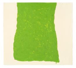 Howard Smith Cadmium Green Light, 1966 Öl auf Papier; Copyright beim Künstler