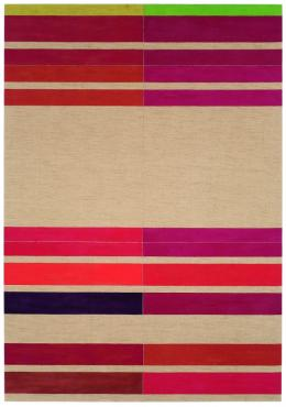 Howard Smith Reds and raw linen, 1971 Acryl auf Leinwand; Copyright beim Künstler