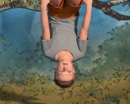"Simon Lehner, Still aus: ""September"", 2019 Zweikanal-3D-Videoinstallation, Ton, 04:00 min., Loop"