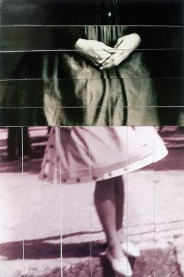 """Brigitte Konyen, aus der Serie: """"Snapshots"""", 2017–19 Fotocollage, 15 x 10 cm"""