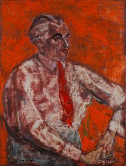 Eric Isenburger,  Wolfgang Gurlitt, um 1932  Zentrum für verfolgte Künste im Kunstmuseum Solingen | © Shmuel Elen | Foto: Museum Giersch der Goethe-Universität, Frankfurt a. M.