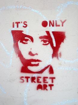 It's only Street Art, o. D., Aus Helga & Herbert Schagers Stencil.Art Sammlung aus Linz von 2003–2016