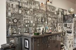 Henrik Jacob (*1972) Café Deutschland International, 2015 Verschiedene Materialien, 400 x 280 x 100 cm © Henrik Jacob