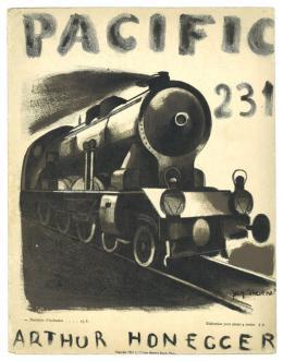 Jacques Thévenet, Pacific 231 (Arthur Honegger) Paris 1924, Sammlung Walter und Dora Labhart