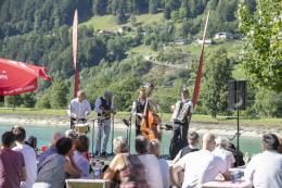 Jazz am Stausee © Patrick Säly - Montafon Tourismus GmbH, Schruns