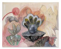 Gönnerin, 2018 Öl, Acryl auf Leinwand, 200 x 250cm