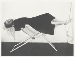Karin Mack, Bügeltraum Nr. 4, 1975 Inkjet-Print, Albertina, Wien © Bildrecht, Wien 2021