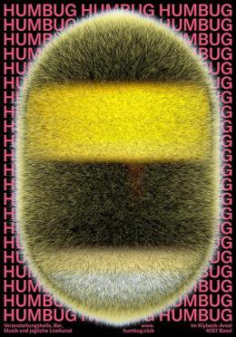 Humbug, Gestaltung: Simone Hörler (CH Basel), © Simone Hörler / 100 Beste Plakate e. V.