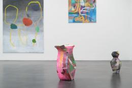 Lipp&Leuthold, I Licked the Yellow Suit of the Sun, Ausstellungsansicht Kunstmuseum Luzern, 2021 Foto: Marc Latzel
