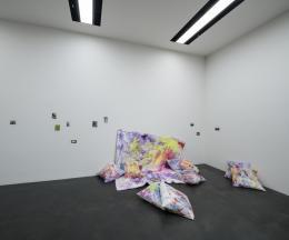 Anita Zumbühl, Ausstellungsansicht, Very few things consist of a single substance, Kunstmuseum Luzern 2019, Foto: Marc Latzel