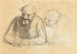 Honoré Daumier (1808-1879), le dessinateur, um 1860 (c) Museum zu Allerheiligen Schaffhausen