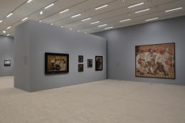 "Ausstellungsansicht ""Franz Hauer. Selfmademan und Kunstsammler der Gegenwart"" © Christian Redtenbacher"