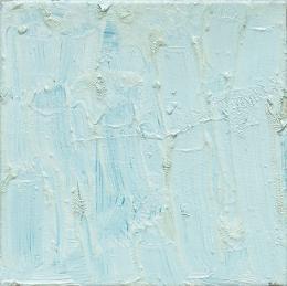 Linus Barta: Blue, 2020, 20 x 20 cm