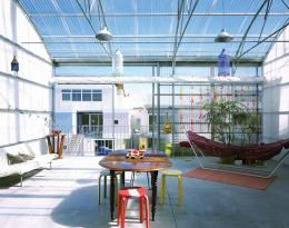 Lacaton & Vassal, Sozialer Wohnbau, Cité Manifeste, Mulhouse, 2001 – 2005 , Innenansicht Bildnachweis: © Philippe Ruault