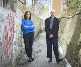 Maria Salchner und Thomas Larcher (© Gerhard Berger)