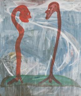 Martin Disler, O.T., 1978 © Kunsthaus Zug