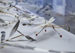 Blick in die Ausstellung, Foto: Bernd Grundmann