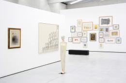 Joan Miró / Oswald Tschirtner / Walter Moroder, Ausstellungsansicht © Museum Liaunig / die Künstler