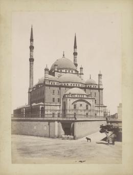 «Mohammad-Ali-Moschee, Kairo». Émile Béchard. Albuminabzug. Ägypten, Kairo, um 1875. Museum Rietberg, Zürich   FRP 1-64