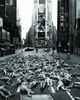 Naked States Installations © Spencer Tunick
