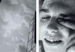 Walter Pfeiffer, Ohne Titel. Aus der Serie «Walter Pfeiffer 1970–1980», 1970/1980 2 Schwarzweissfotografien, je 30,3 x 21,3 cm Kunsthaus Zürich, 1999 © 2019 ProLitteris, Zurich
