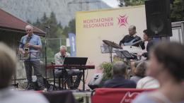 Montafoner Resonanzen - Jazz in der Au, Foto: Philipp Schilcher © Montafon Tourismus GmbH