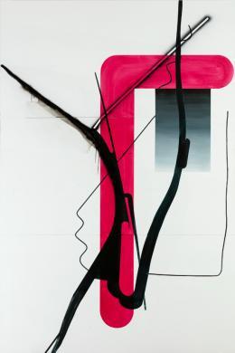 Albert Oehlen: Ohne Titel / Untitled (Baum 37), 2015. Foto: Stefan Rohner; © 2019, ProLitteris, Zurich