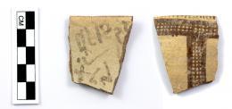 Frühalphabetische Inschrift auf einer zyprischen Scherbe. © ÖAW
