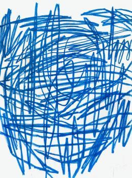 Otto Zitko,  ohne Titel, 2005 / Ölstift auf Papier, 200 x 150 cm  © Bildrecht, Wien 2019 / Foto: Markus Wörgötter, Wien / Courtesy Galerie 422 – Margund Lössl, Gmunden