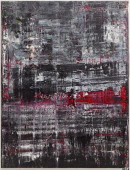 Gerhard Richter, Birkenau, 2014, Öl auf Leinwand, 260 x 200 cm © Gerhard Richter 2021