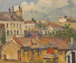 Paul Cézanne, Groupe de maison, 1876/77 © Dauerleihgabe an Hahnloser/Jaeggli Stiftung, Villa Flora, Winterthur Foto: Reto Pedrini, Zürich