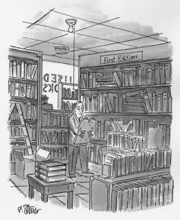 Peter Steiner, First Editions, o.D. © Peter Steiner