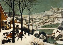 Pieter Bruegel der Ältere: Die Jäger im Schnee (Bild: Wikimedia Commons)
