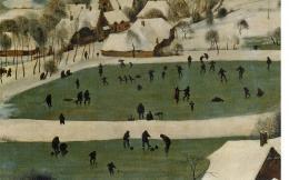 Pieter Bruegel der Ältere: Menschen am Eis (Bild: Wikimedia Commons)