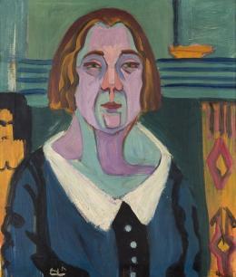 Porträt Lise Gujer, 1927. Dauerleihgabe