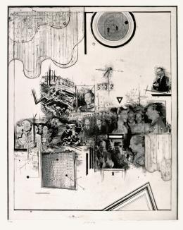 Pravoslav Sovac, Hommage à Dubcek, 1968 © Kunsthaus Zug