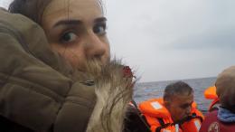 "© Rania Mustafa Ali, ""Escape from Syria: Rania`s Odyssey"", 2017, Videostill"
