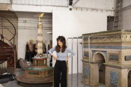 Raphaela Vogel in ihrem Studio in Berlin, 2019 Foto: Franziska Rieder © Kunsthaus Bregenz