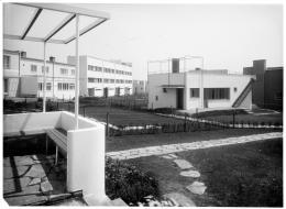 Haus in der Wiener Werkbundsiedlung, 1932  Foto: Martin Gerlach jun. © Wien Museum