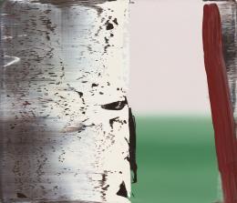 Gerhard Richter, Abstraktes Bild, 1987, Öl auf Leinwand, 62 × 72 cm, Niedersächsische Sparkassenstiftung im Sprengel Museum Hannover; Foto: bpk / Sprengel Museum Hannover / Aline Herling / Michael Herling / Benedikt Werner © Gerhard Richter
