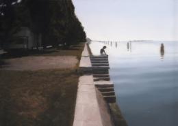 Gerhard Richter, Venedig (Treppe), 1985, Öl auf Leinwand, 50 × 70 cm, Art Institute of Chicago, Schenkung Edlis Neeson Collection; Foto: bpk, The Art Institute of Chicago, Art Resource, NY © Gerhard Richter