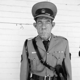 Roger Ballen, Sgt F de Bruin, Department of Prisons employees, Orange Free State, 1992 © Roger Ballen