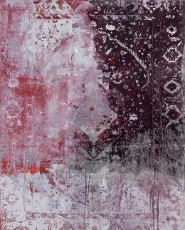 Rudolf Stingel: Untitled, 2013. Öl und Emaille auf Leinwand, 300 x 242 cm; © Rudolf Stingel. Foto: Alessandro Zambianchi