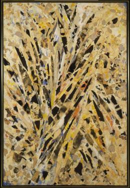 Lee Krasner, Burning Candles, 1955, 147,6 × 99,1 cm, Collection Neuberger Museum of Art, Purchase College, State University of New York, gift of Roy R.Neuberger. © Pollock-Krasner Foundation/VG Bild-Kunst, Bonn 2019. © Jim Frank