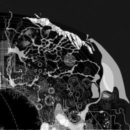 """Frédérique Aït-Touati, Alexandra Arènes, Axelle Grérgoire, """"The Soil Map"""", in: """"Terra Forma, manuel de cartographies potentielles"""", 2019, Detail © Frédérique Aït-Touati, Alexandra Arènes, Axelle Grérgoire"""