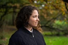 Sonia Kacem, winner of Zurich Art Prize 2021. Photo: Gunnar Meier