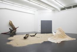 """Sonia Kacem, """"Progress MI 07"""", Installation view Galerie Gregor Staiger, Zurich, 2011. Photo: Gregor Staiger"""