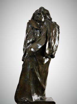 Auguste Rodin (1840–1917), Balzac, 1897 Bronze, 108,5 x 43 x 38 cm, Privatsammlung Foto: Privatsammlung