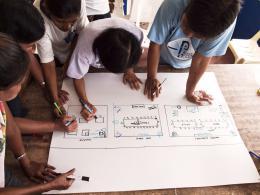 Tacloban, 2010. Entwurfsprozess, Workshop © Alexander Eriksson Furunes
