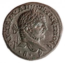Tetradrachme des Caracalla (Antoninus III.), Silber, geprägt 215–217 n. Chr. in Emesa (Syrien),  Foto: Universalmuseum Joanneum/N. Lackner
